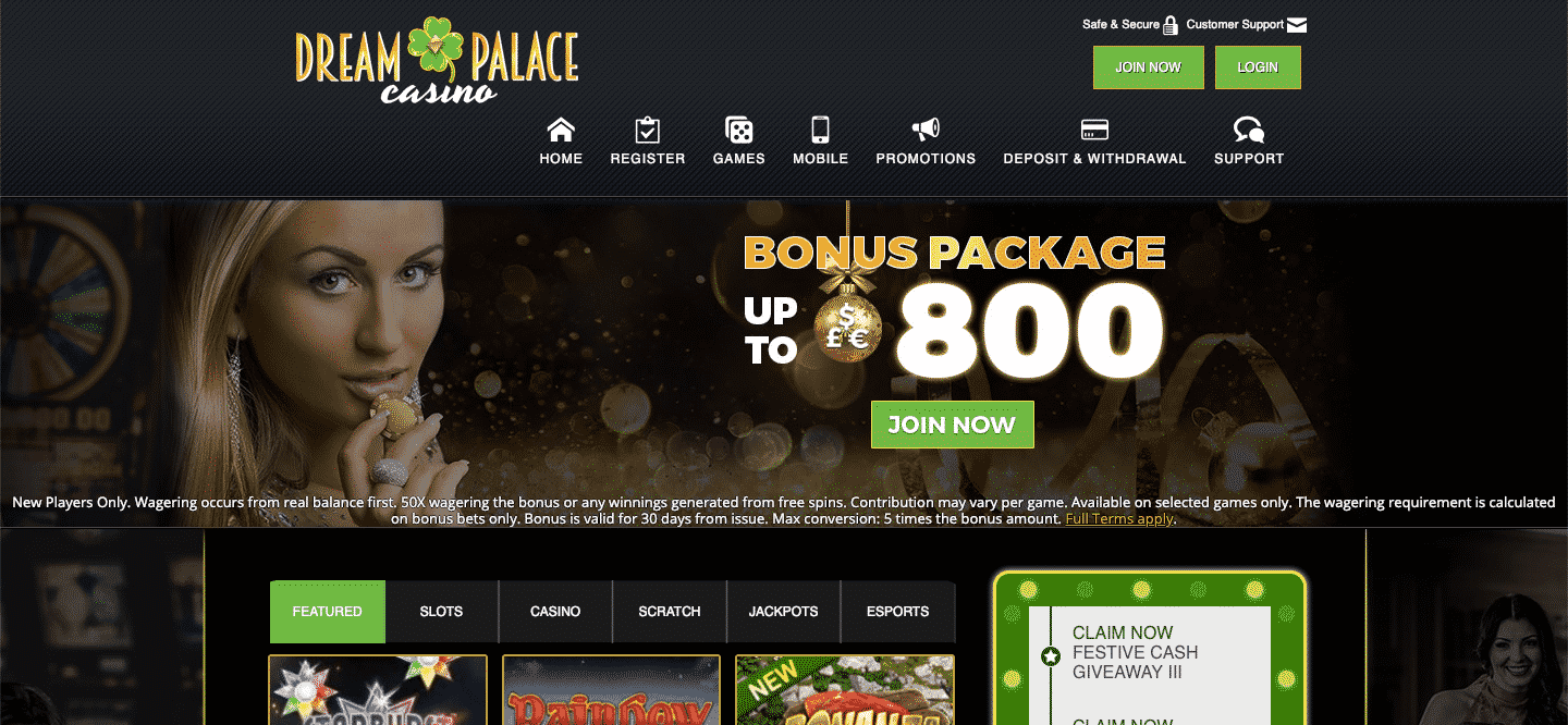 dream palace review