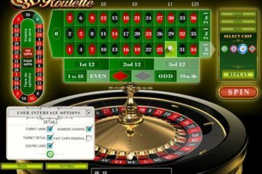 Play 3D ROULETTE PLAYTECH Online for Free or Real Money