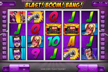 Play BLAST BOOM BANG Slots Online For Free or Real Money