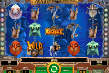 Play BOOM BROTHERS Slots Online For Free or Real Money