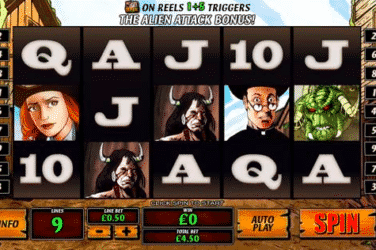Play COWBOYS and ALIENS Slots Online For Free or Real Money