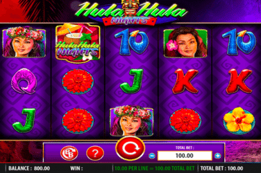 Play the HULA NIGHTS Slots Online For Free or Real Money