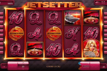 Play the JETSETTER Slots Online For Free or Real Money