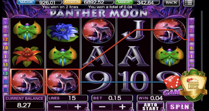play panther moon slot
