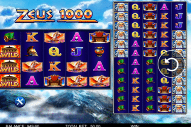 Play the ZEUS 1000 Slots Online For Free or Real Money