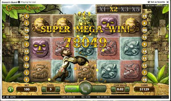 Play Gonzo Slot Game online free