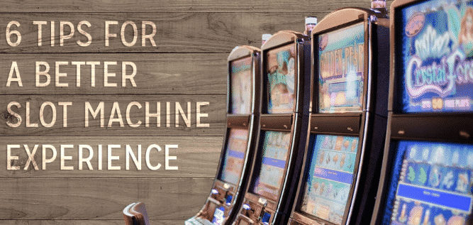 slot machine tips