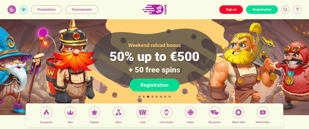 yoyo casino review