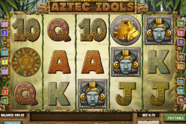 Play AZTEC IDOLS Slots Online For Free or Real Money