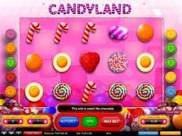 CANDYLAND slot machine game