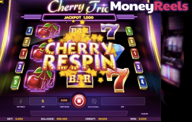 play cherry trio slot free