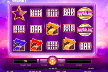 Play the DISCO DOUBLE Slots Online For Free or Real Money