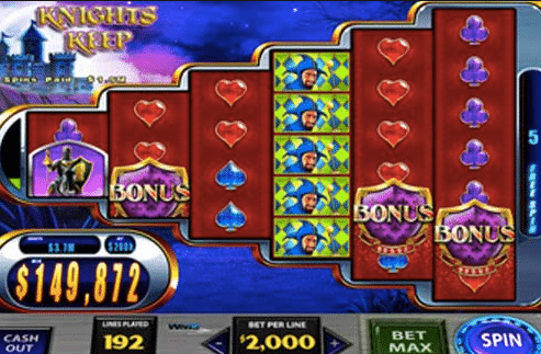 play knights keep slot free