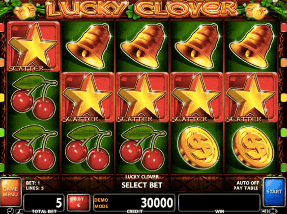 play lucky clover slot free