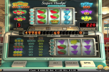 Play SUPER NUDGE 6000 Slots Online For Free or Real Money