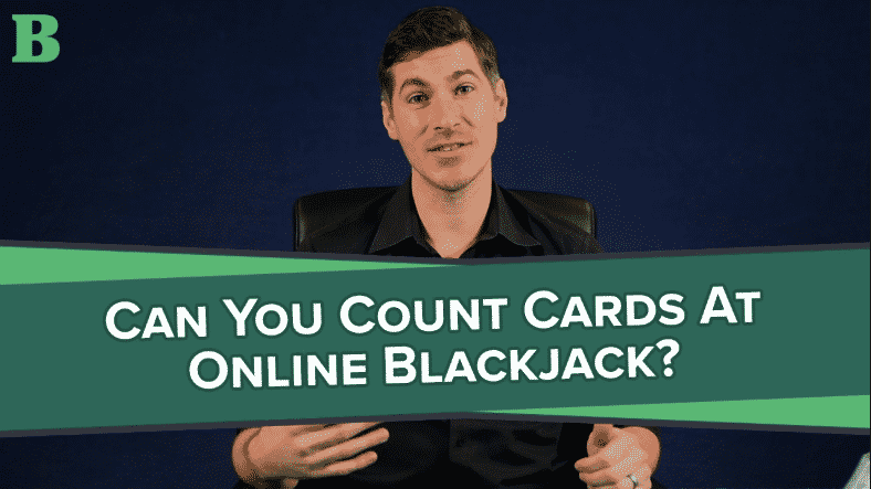 can you countcards at online blackjack