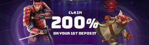 200% Welcome Bonus Casino